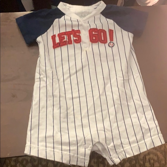 Carter's Other - Baseball one piece